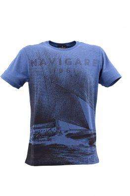NAVIGARE majica - NV0p31105 - PLAVA