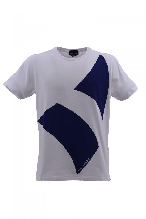 NAVIGARE majica - NV0p31116 - BELA