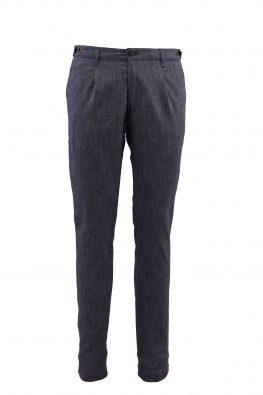 BARBOLINI pantalone - B0p20024 - PLAVA
