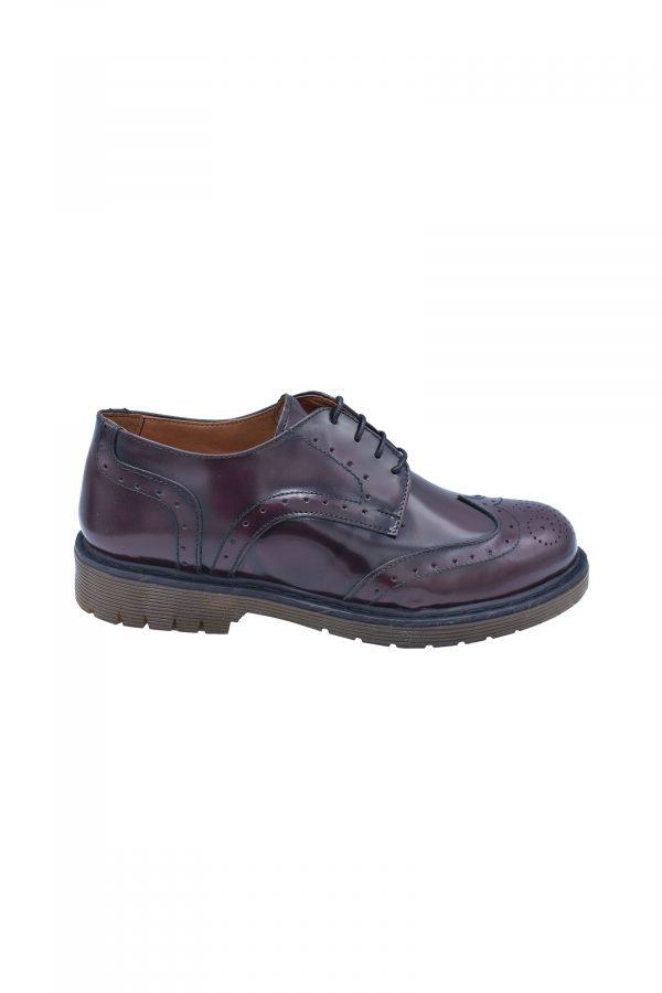 BARBOLINI cipele - B0zABRAZ02 - BORDO