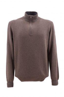 BARBOLINI džemper - B0zMCRATERE40Z - BRAON