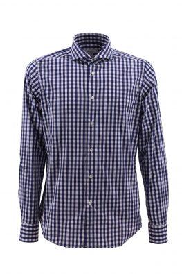 BARBOLINI košulja - B0zCVG27 - PLAVA-KARO