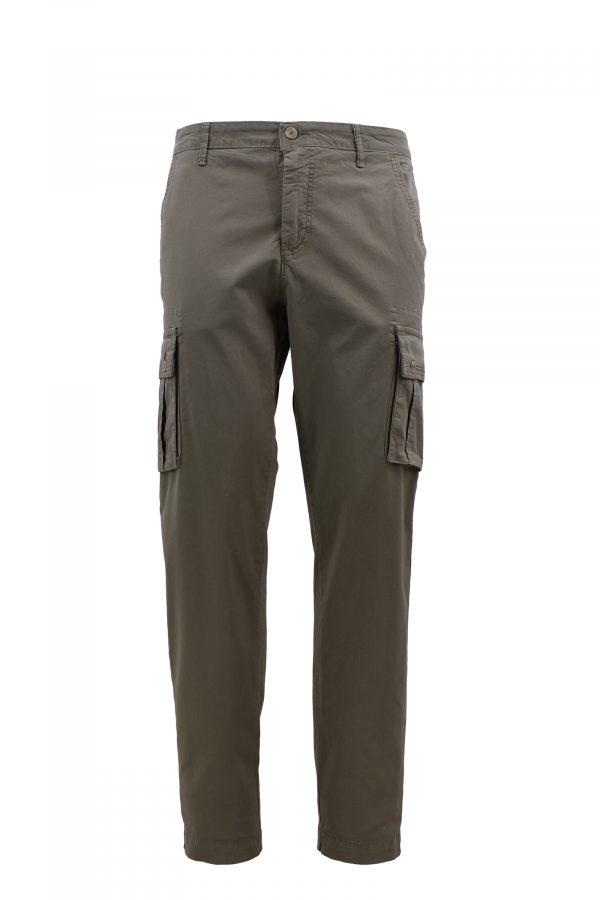 BARBOLINI pantalone - B1pGPC1365 - MASLINASTA
