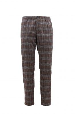 BARBOLINI pantalone - B1pOSTUNI - BRAON-KARO