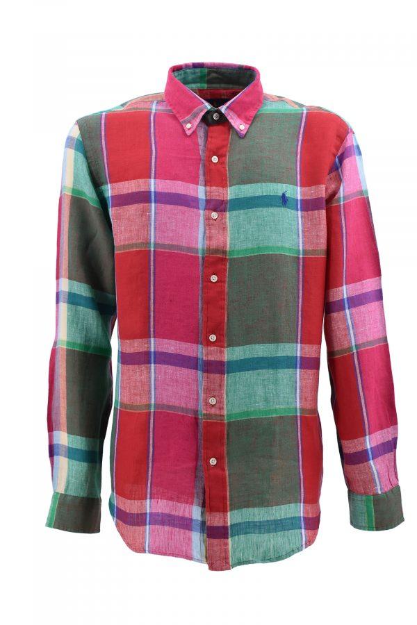 RALPH LAUREN košulja - 1p710837275002 - CRVENA-KARO