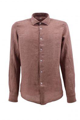 FRADI košulja - 1pC650_LN5339 - BRAON