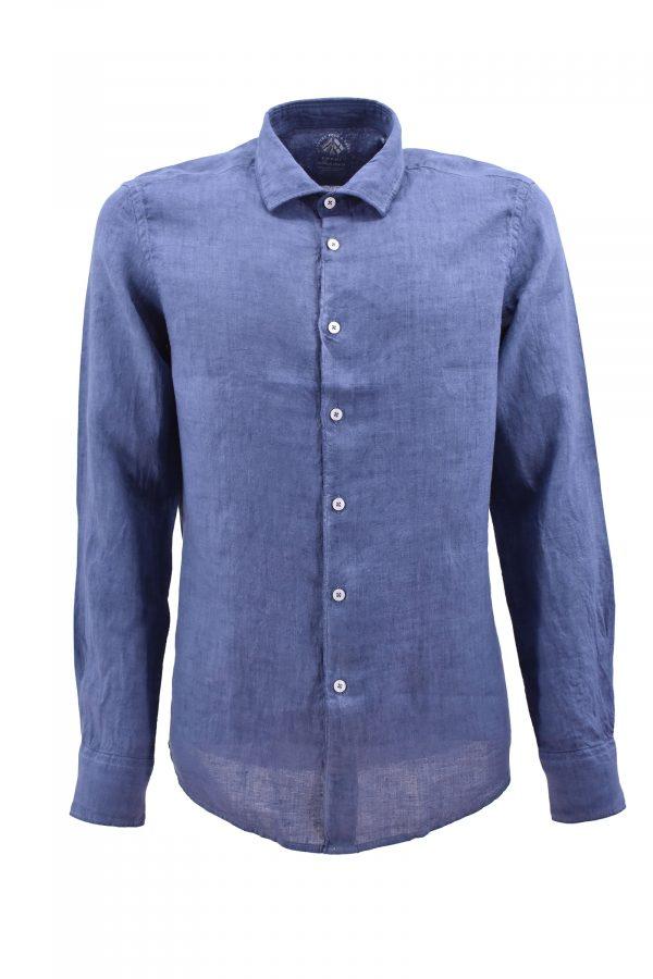 FRADI košulja - 1pC650_LN5339 - PLAVA