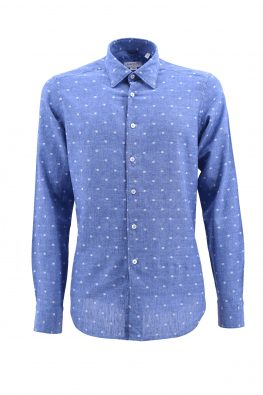 BARBOLINI košulja - B1pDBR2211 - PLAVA
