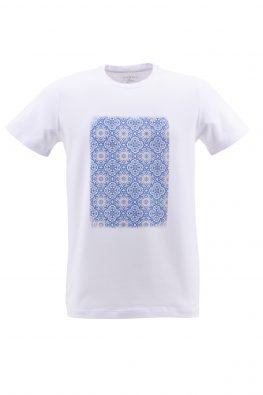 BARBOLINI majica - B1pTSTAMP7 - BELA