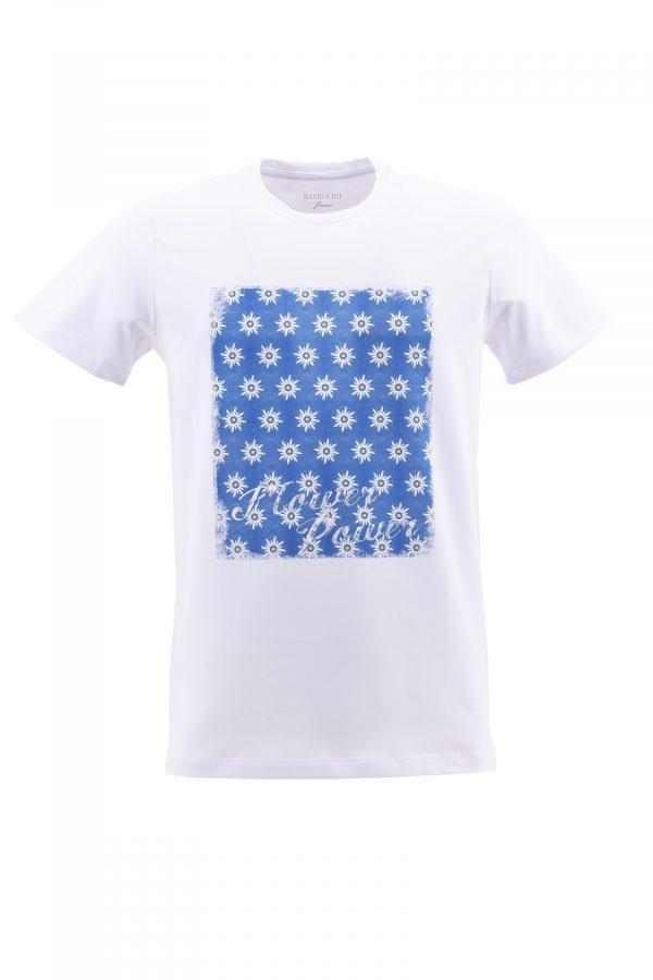 BARBOLINI majica - B1pTSTAMP2 - BELA