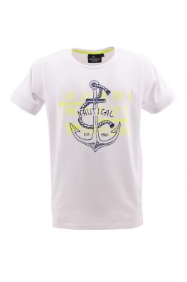 SCUOLA NAUTICA ITALIANA majica - SNI1p016025 - BELA