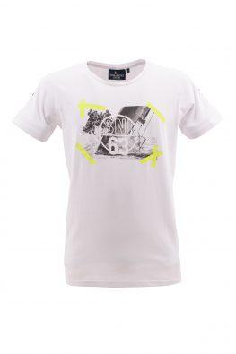 SCUOLA NAUTICA ITALIANA majica - SNI1p016028 - BELA