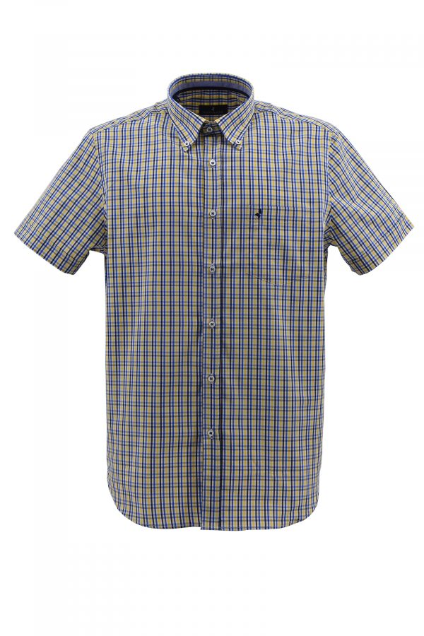 NAVIGARE košulja - NV1p869ET08MM - ŽUTA
