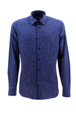 BARBOLINI košulja - B1zEDN4314 - TEGET-KARO