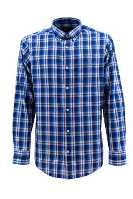 GANT košulja - GM1z3037630 - PLAVA-KARO