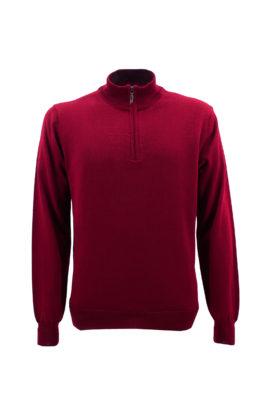 NAVIGARE COLLEZIONI džemper - N1zLUPZIPFM40OS - BORDO