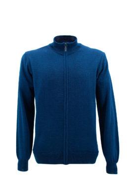 NAVIGARE COLLEZIONI džemper - N1zZIPFM170OS - DENIM