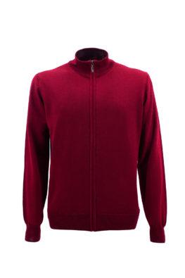 NAVIGARE COLLEZIONI džemper - N1zZIPFM170OS - BORDO