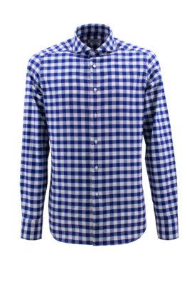 BARBOLINI košulja - B1zEDR9401 - PLAVA-KARO