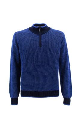 NAVIGARE COLLEZIONI džemper - N1zLUPZIP02 - PLAVA