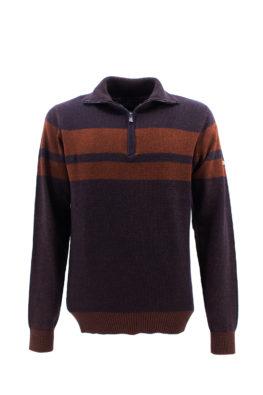 NAVY SAIL džemper - NS1z310172 - BRAON
