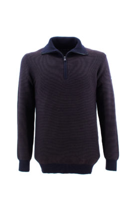 NAVY SAIL džemper - NS1Z310302 - BRAON