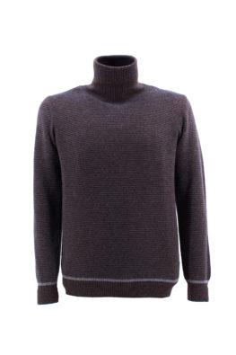 FRADI džemper - 1zMD1132_6120 - TAMNO-BRAON