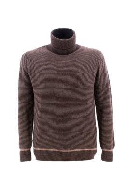 FRADI džemper - 1zMD1132_6120 - BRAON