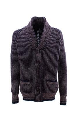 FRADI džemper - 1zMK1115_6118 - BRAON