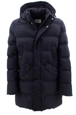 BARBOLINI jakna - B1zPIN116 - CRNA