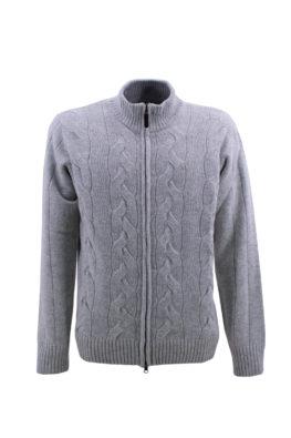 BARBOLINI džemper - B1zMAPPA170Z - SVETLO-SIVA