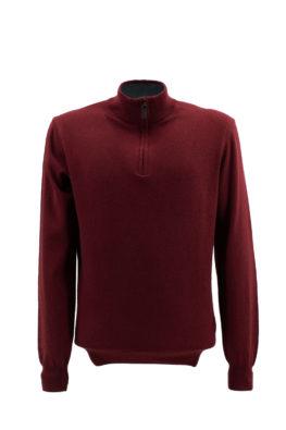 BARBOLINI džemper - B1zMCRATERE40Z - BORDO