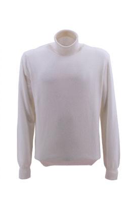 BARBOLINI džemper - B1zMCRATERE100 - BELA