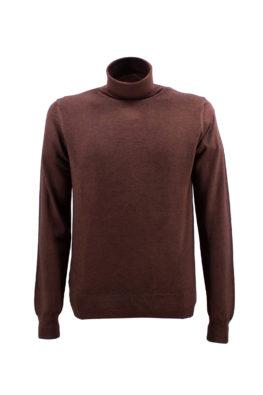 FRADI džemper - 1zMD112_5605 - BRAON